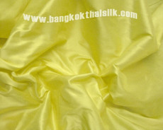 Bright Yellow 100% Authentic Silk Fabric