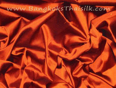 Terra Cotta Red 100% Authentic Silk Fabric