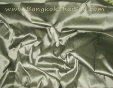 Sage Green 100% Authentic Silk Fabric