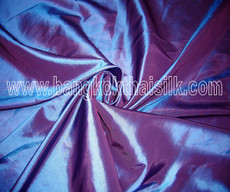 "Blue Shot Red Faux Silk Taffeta 60""W Fabric"