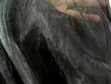 Sheer Mirror Organza - Black