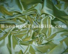 "Moss Green Shot Gold Faux Silk Taffeta 60""W Fabric"