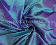 "Green Shot Violet Taffeta 60"" Fabric"