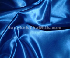 "Royal Blue Satin Fabric 45""W"