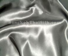"Silver Satin Fabric 45""W"