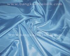 """Light Sky Blue Taffeta 60""""W Fabric"""