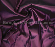"Dark Purple Faux Silk Taffeta 60""W Fabric"