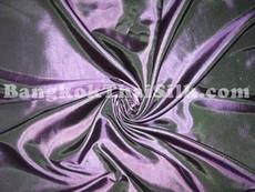 "Purple Shot Green Taffeta 60""W Fabric"