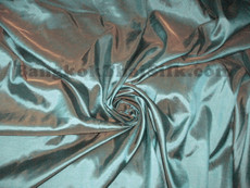 "Gray-Green Shot Gold Taffeta 60""W Fabric"