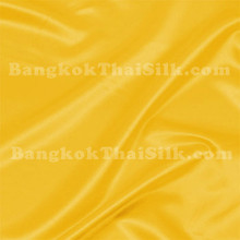 "Yellow Satin Fabric 45""W"