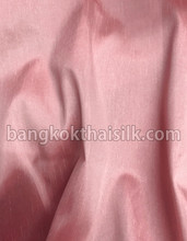"Faux Silk Caprice Dupioni 60""W Fabric - Golden Pink"