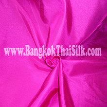 "Faux Silk Caprice Dupioni 60""W Fabric - Hot Pink"