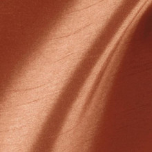 "Faux Silk Caprice Dupioni 60""W Fabric - Cinnamon"