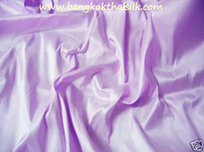 Pale Lilac 100% Authentic Silk Fabric