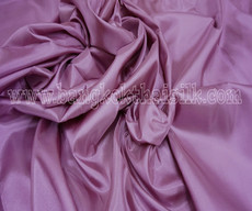 "Dusty Rose Faux Silk Taffeta 60""W Fabric"