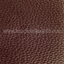 Faux Calf Leather Fabric - Chocolate