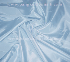 "Baby Blue Faux Silk Taffeta 60""W Fabric"