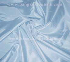 """Baby Blue Faux Silk Taffeta 60""""W Fabric"""