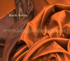 Heavy Silky Dupioni with Satin Back Fabric - Copper Brown
