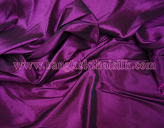 4-Way Stretch Taffeta Faux Silk Fabric - Purple