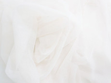 "Soft Net Stretch Tulle 60""W - Ivory"