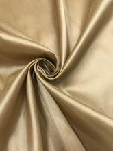 "Faux Silk Caprice Dupioni 60""W Fabric - Jasmine Gold"