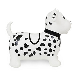 Child's Bouncy blow Up Ride-On Dog by Waddle