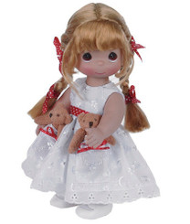 Precious Moments 'Pocket Pal' 12' Doll with Auburn Hair