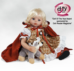 Baby Red Riding Hood-21 Inch Porcelain Doll By Charisma
