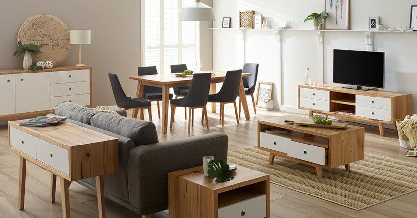 Living Room All Furniture Ranges Kew Gloss Range