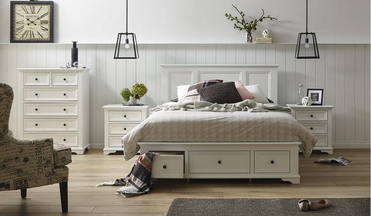 Wentworth Tallboy Bedroom Suite Focus on Furniture