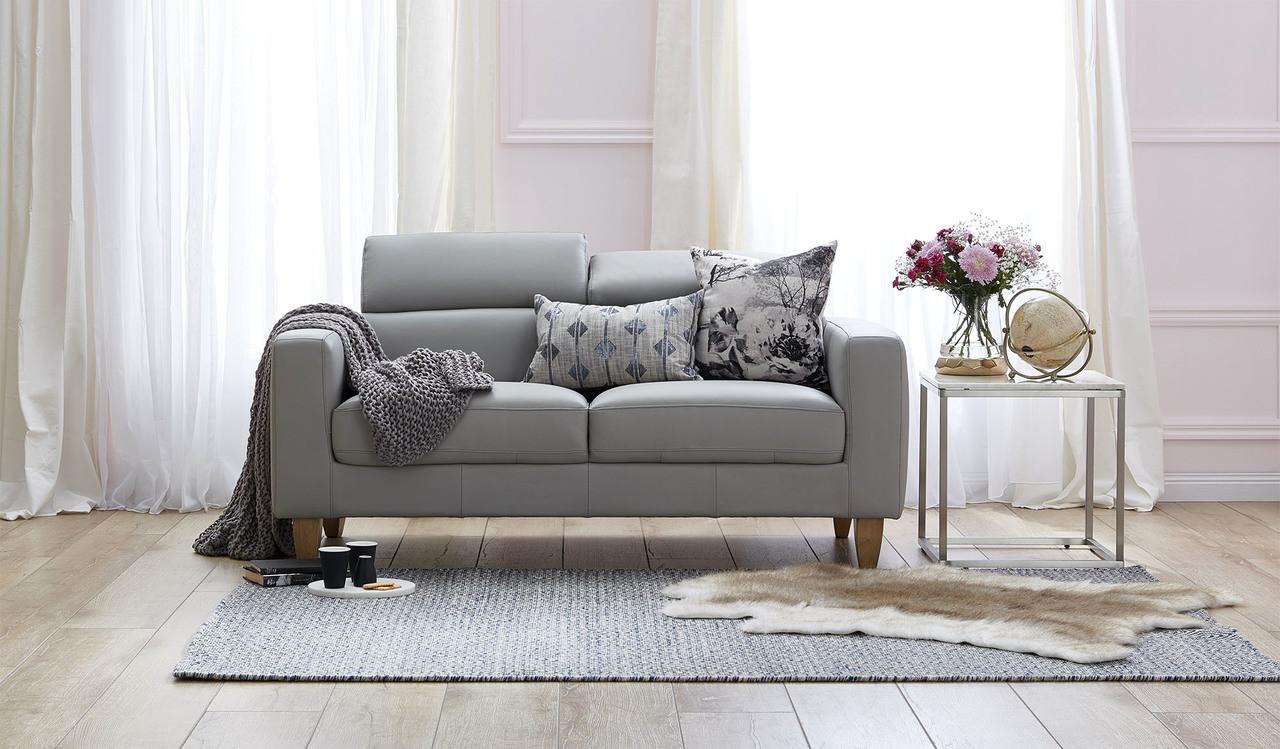Brando Leather 2 5 Seat Sofa Focus On Furniture