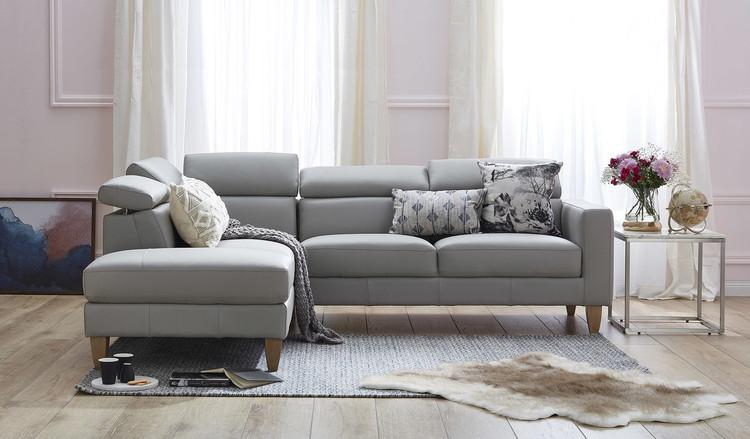 Home · Lounges u0026 Sofas; Brando leather corner chaise. Image 1 : leather corner chaise lounge - Sectionals, Sofas & Couches