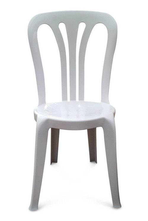 ... Garrotxa Bistro Patio Chair. White. Image 1
