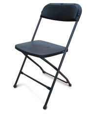 Folding Plastic Chairs - Ex Australian Gold Coast Commonwealth Games