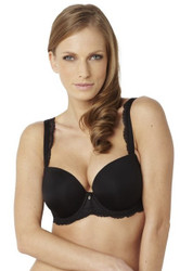 Panache Ardour T-Shirt Bra (7951) in Black