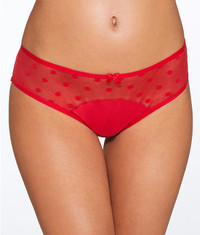 Cleo by Panache Koko Spirit Brief Panty (9512) in Rouge