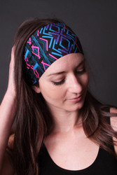Violet Love Headband - Divine Harmony Black Label Collection (1001-DH), Cosmic