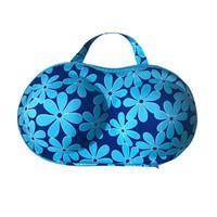 Bra Storage/Travel Bag (UIE623), Blue Floral