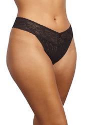 Plus Size Lace Thong