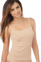 On Gossamer Cabana Cotton Reversible Camisole (1427), Champagne