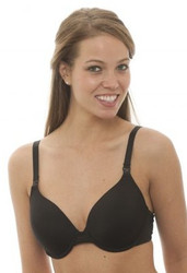 LLLI Padded T-Shirt Underwire Bra, Black