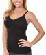 Seamless Nursing Bra Support Cami, Black
