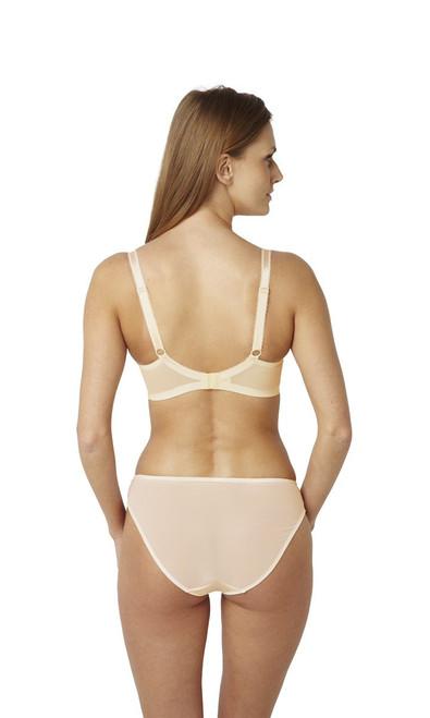 Panache Clara Bikini Panty with matching bra in nude