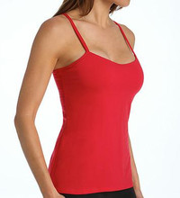 Panache Strappy Underwire Bra Camisole, OV15, in Red
