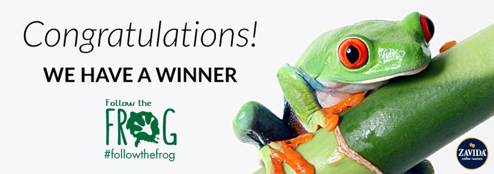 #FollowtheFrog - We Have a Winner!