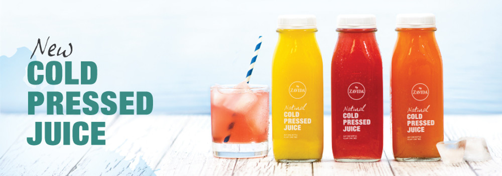 ​New Cold Pressed Juices