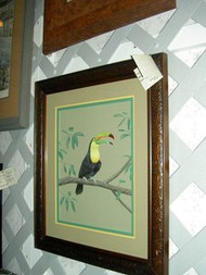 Toucan Original Watercolor by the Porter Family