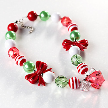DIY Kit - Holly Jolly Necklace