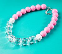 DIY Kit - Pretty in Pink Necklace